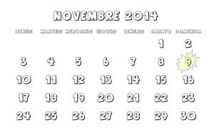 Immagine calendario